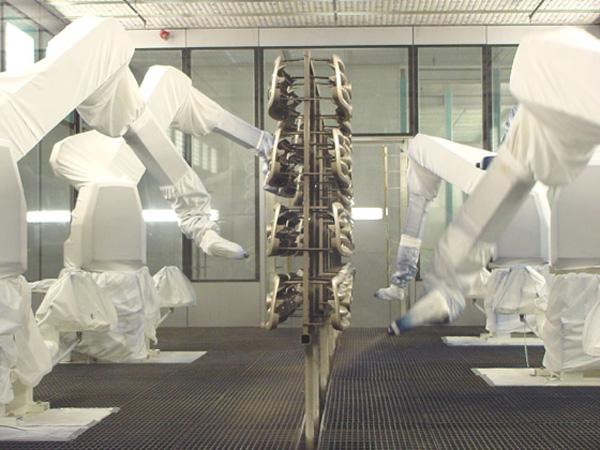 st louis video production   automotive parts robotic painting